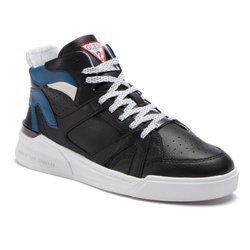Sneakersy GUESS Madison FM6MAD LEA12 BLACK