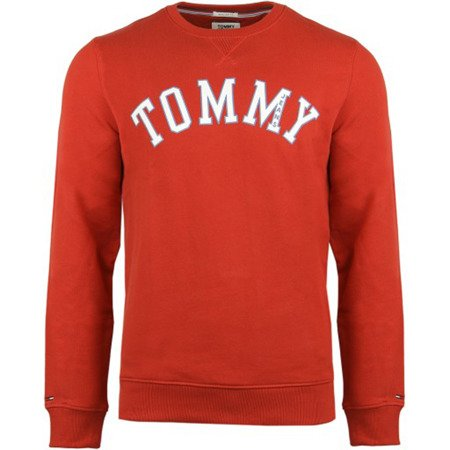 BLUZA TOMMY JEANS RED ESSENTIAL DM0DM05160