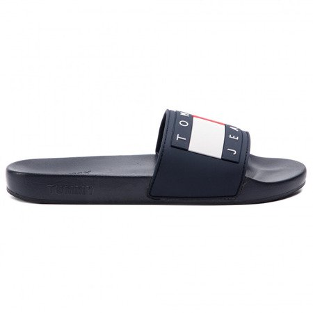 Klapki TOMMY JEANS Flag Pool Slide EN0EN00474
