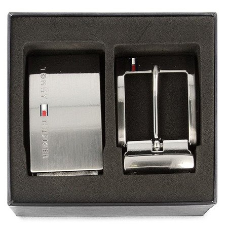 Pasek TOMMY HILFIGER Doble Buckle AM0AM02224 901