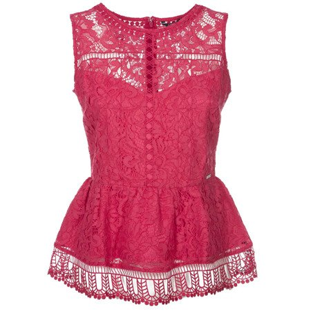 TOP GUESS Sleeveless lace top W83H47WAFE0