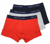 BOKSERKI TOMMY HILFIGER 3-PACK BLACK WHITE RED